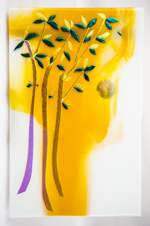 Sandy Feder\'s Seasonal Wall Art Glass
